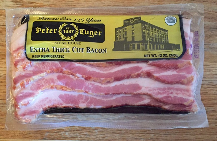 Peter Luger Extra Thick Cut Bacon - 6 Pack