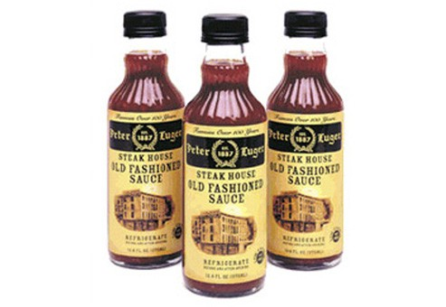 Peter Luger Steak Sauce BOX OF 6 BOTTLES