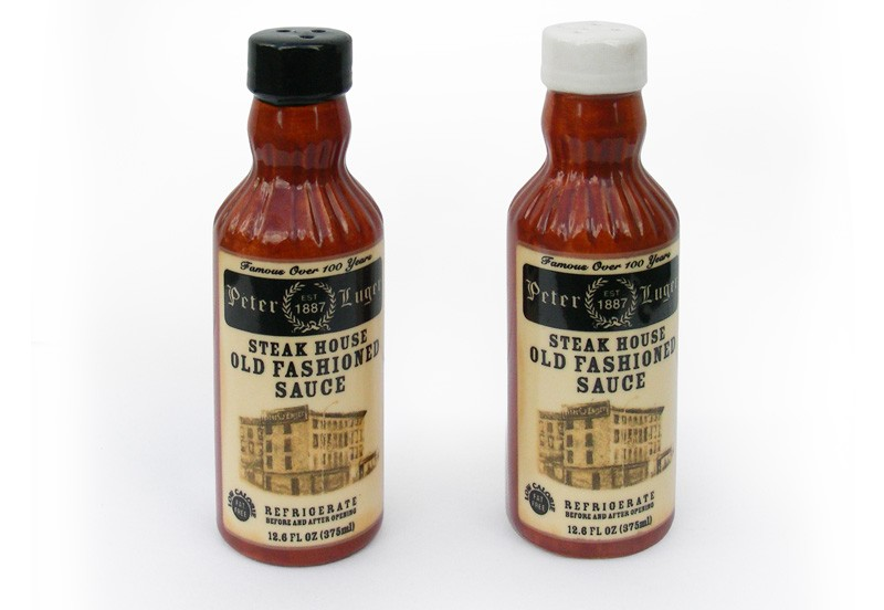 Peter Luger Salt & Pepper Shakers