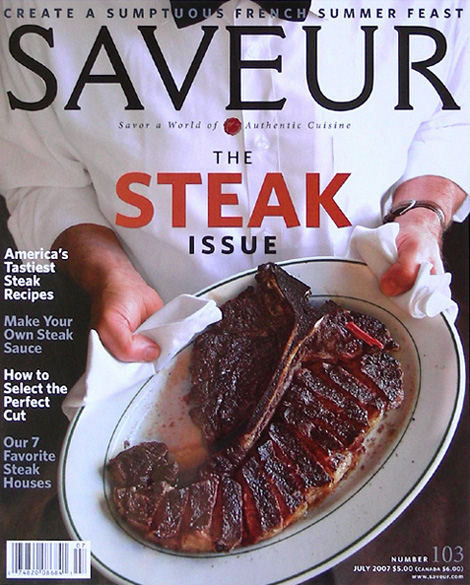 Saveur, The Steak Issue 2007